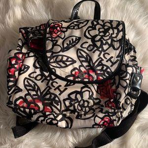Coach backpack/purse